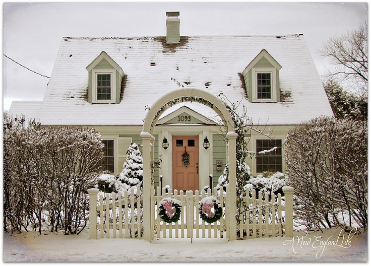 1000 Images About New England Cottages On Pinterest