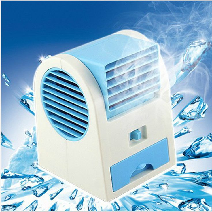 Creative USB charging mimi fan battery and fragrant air conditioning fan no hakaze smart cooling only  air conditioner cooler
