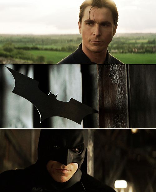 Mystery solved  Bruce + Bat = Batman