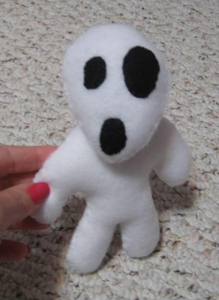 Three Tiny Movie Things Rnd 2 - Tree spirit doll, his head rotates and rattles.