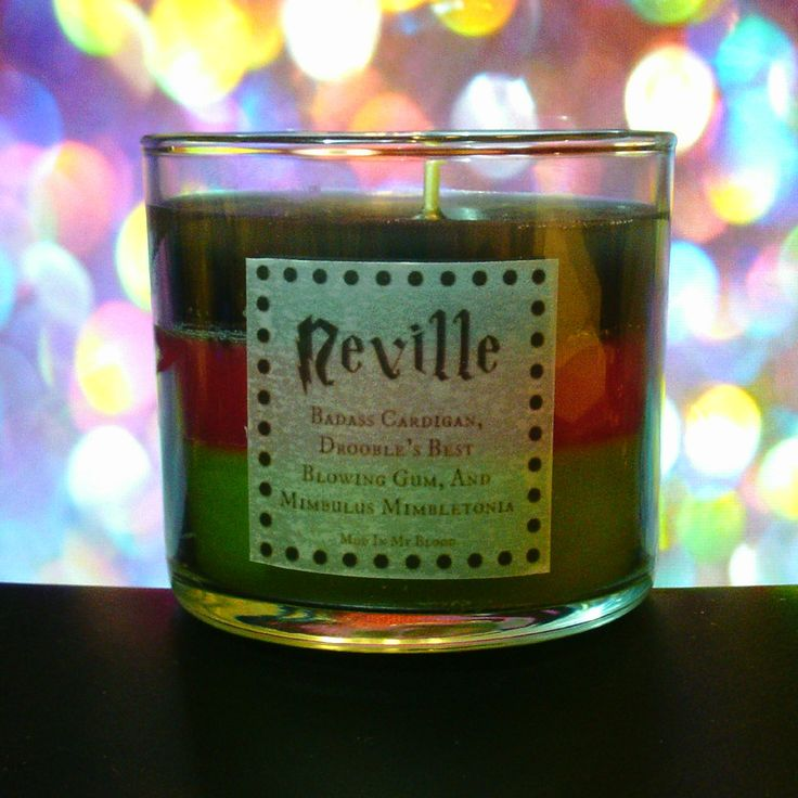 Neville Scented 4oz Candle- Badass Cardigan, Drooble's Best Blowing Gum, and Mimbulus Mimbletinia - Thumbnail 1