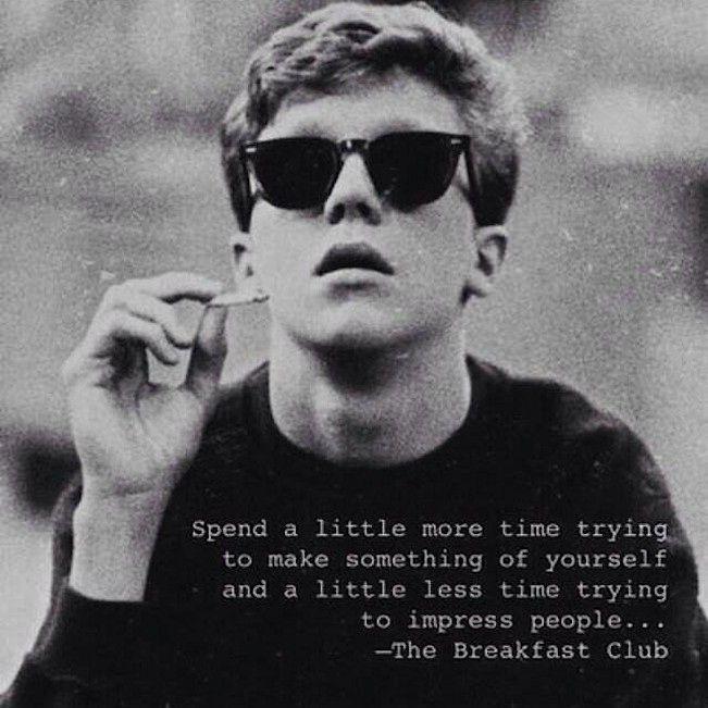 The Breakfast Club ~ cult classic