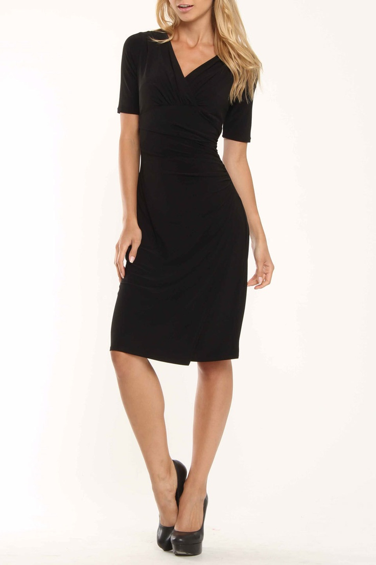 Evan Picone Black Dresses