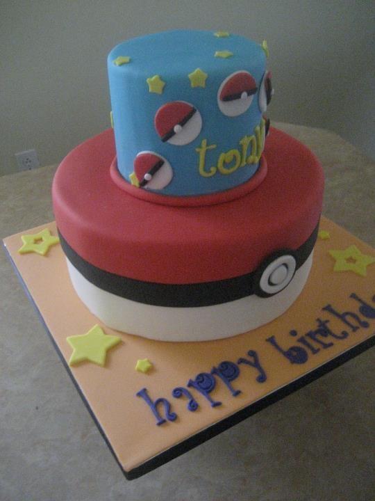 9 Best Pokemon Cakes Images On Pinterest Pokemon Cakes