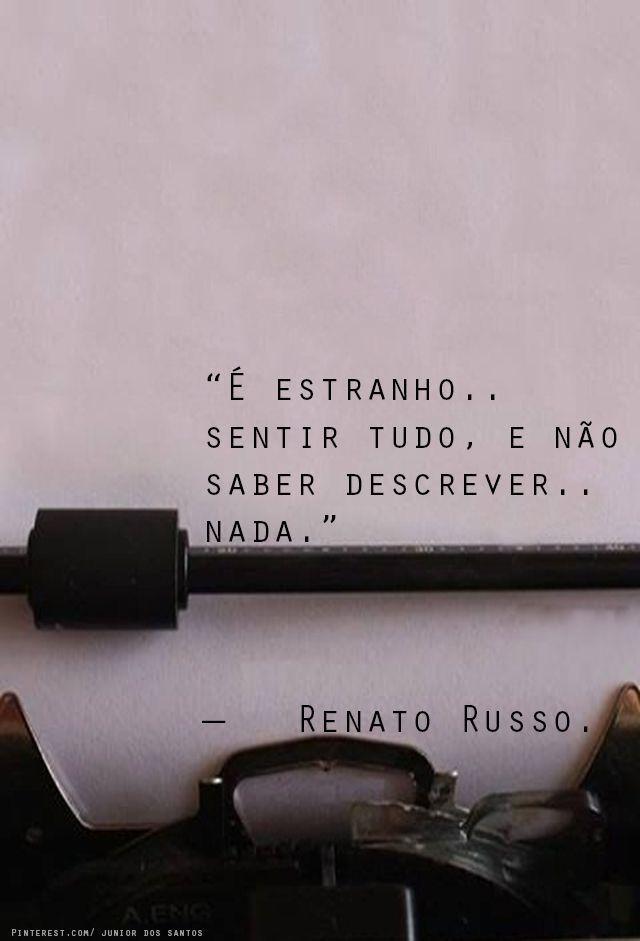 #sentimento #frases #renatorusso