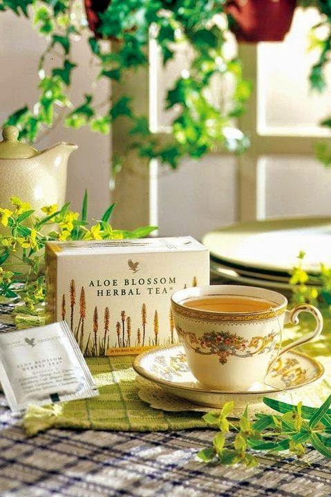 L'Aloe Vera di Susy De Marchi e Ivano Martucci: Aloe Blossom Herbal Tea - tisana con fiori di Aloe...