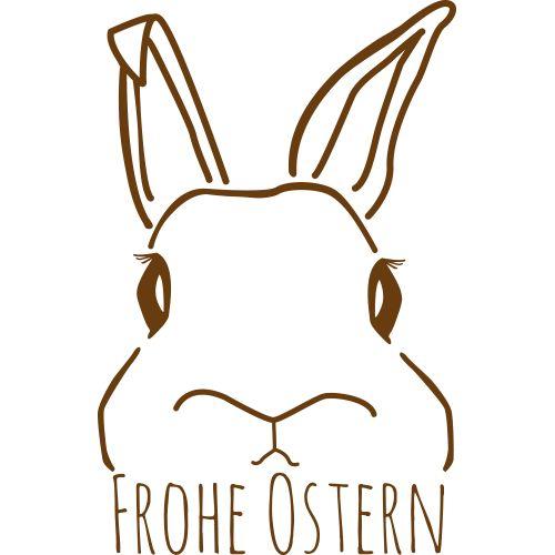 Aufkleber Frohe Ostern 2
