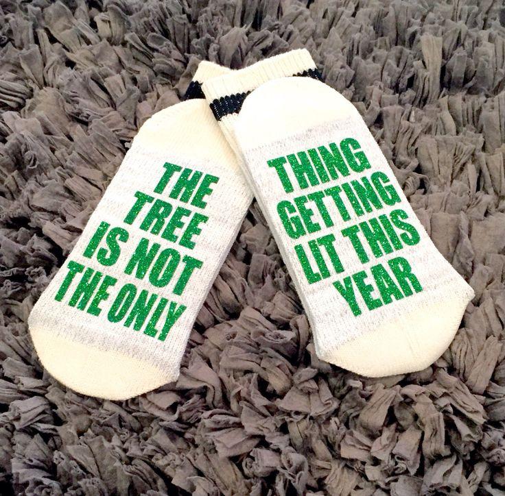 A personal favorite from my Etsy shop https://www.etsy.com/ca/listing/471324276/11-winebeer-socks-bring-me-wine-socks