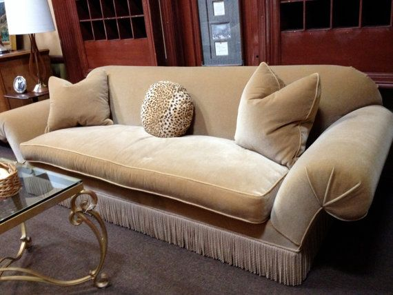 Beautiful Mohair Velvet Living Room Sofa By