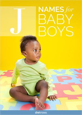 J names are hot for baby boys, and these are some of the cutest!