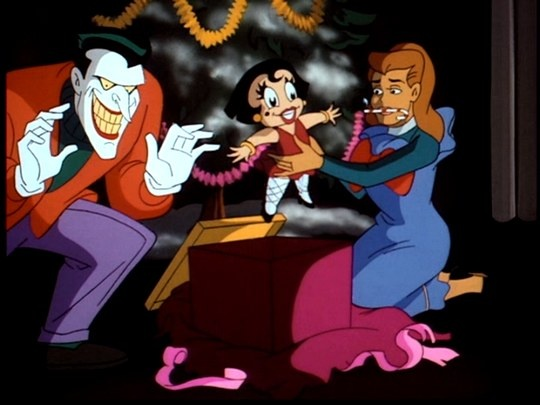 Christmas With The Joker.Just Watched Batman Tas Christmas With The Joker Dc