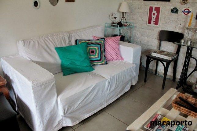 Blog da Mara Porto » Arquivos » Capa do meu sofá, como eu fiz