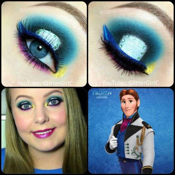 Disney Frozen Prince Hans Makeup. Youtube channel: full.sc/SK3bIA