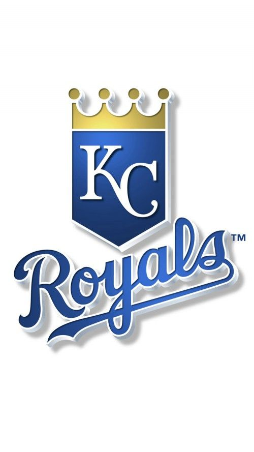 Attachment for Kansas City Royals logo in white background for iPhone 6 Wallpaper