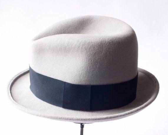 Fedora Hat Homburg Hat Men's Fedora Hat Great Gatsby Hat