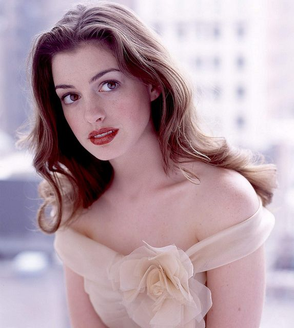 Anne Hathaway | pretty sure she's real life Belle. They should do beauty and the beast in life and use the Disney songs. She can sing.