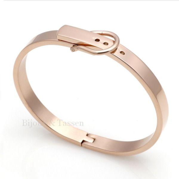 Belt bracelet Rosé