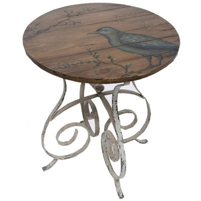 Good Serenity Bird Accent Table