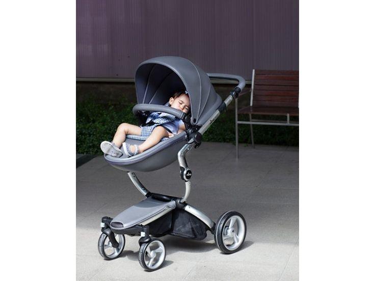 MIMA Xari kočárek 3G - sedák s korbou Cool Grey Cool Grey   Kašpárek Baby