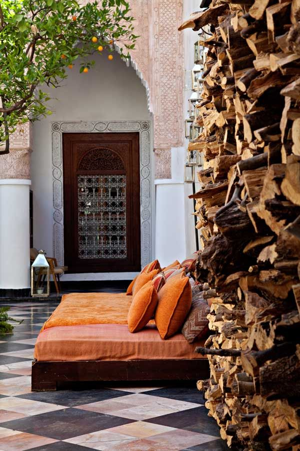 Spaces. Riad el Fenn, Marrakech