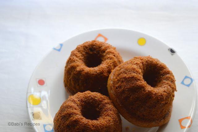 Babi 's Recipes: Banana Black Currant Bundt Cake   Mini Bundt Cake