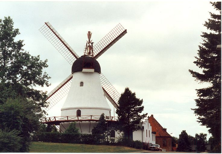 Oldest Windmill in Vejle, Denmark
