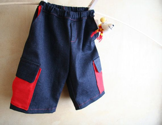 Boys shorts, boy jeans pants, superheroes skylanders boys trousers, toddler boys clothing, dress up boy pants