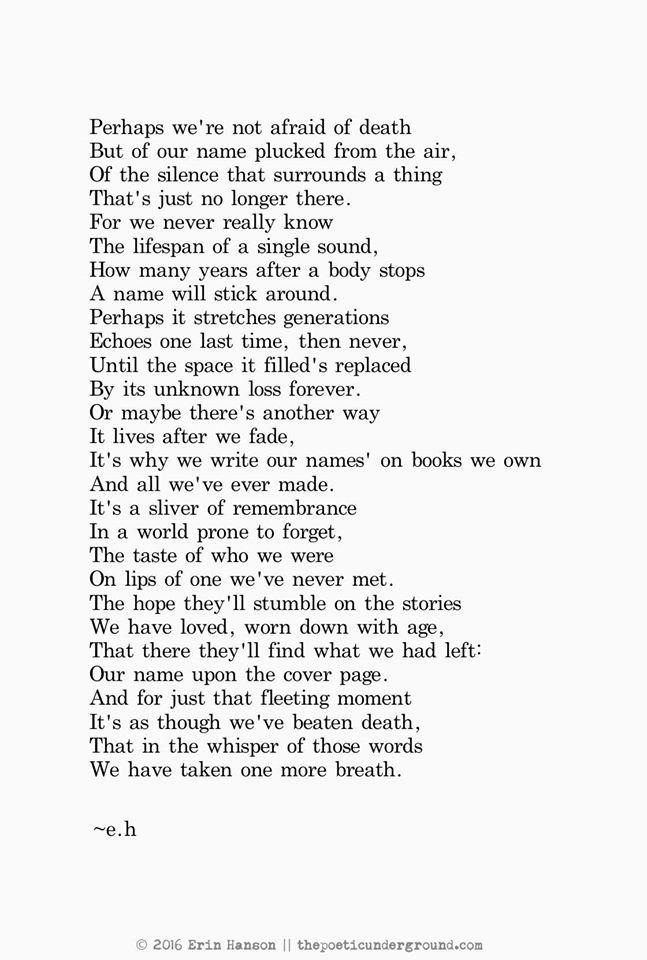Omg this is amazing! Beautiful words, goosebumps