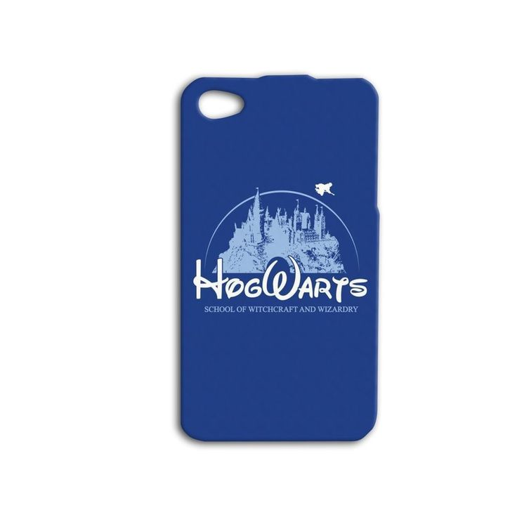 Disney Hogwarts Harry Potter Cute iPhone Case Phone Cover Blue