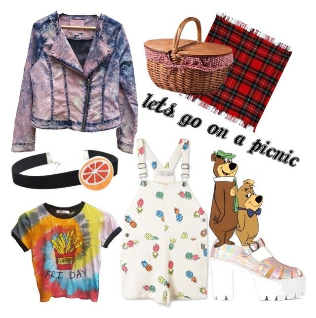 """""""picnic outfit"""" by kaleidoscopekidco on Polyvore featuring STELLA McCARTNEY, Buffalo David Bitton, WithChic, Love Boo and Picnic Time"""