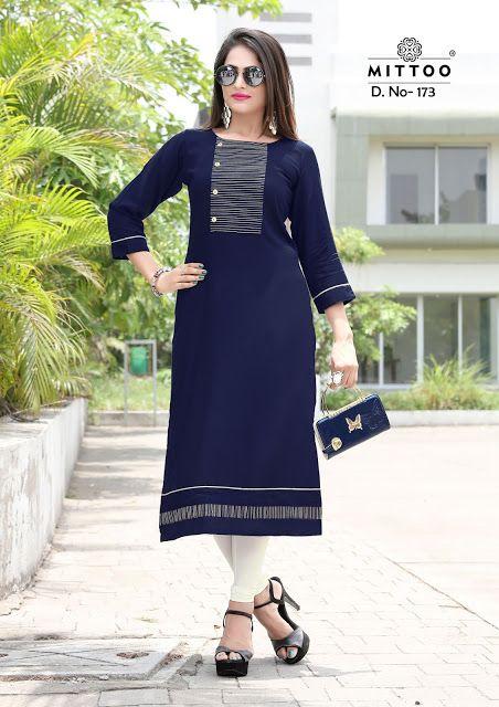 5d28fd0669 Mittoo Kurti Catalog - A Kurti Brand by Khantil Group | kurti in ...