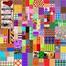 Plaid Collage 34 (400 pieces)