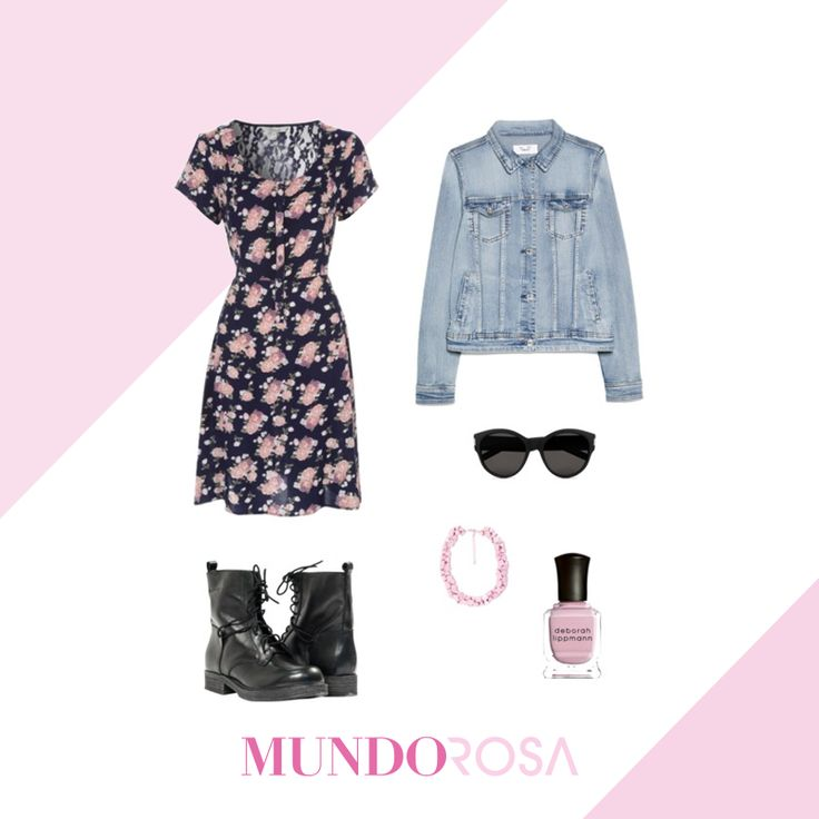 Un vestido con botas para las chicas rudas. #OOTD #Dress #Boots #OOTD #Fashion #Style