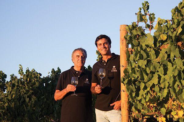 Pai e filho, Carlos Rebelo Lopes e Pedro Rebelo Lopes há muito que sonhavam com um projecto para a Quinta Nova