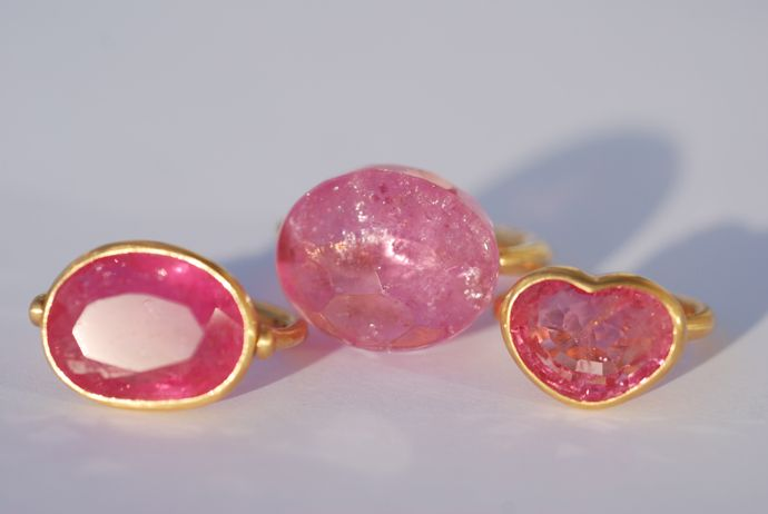 Incredible Candy Pink Tourmalines