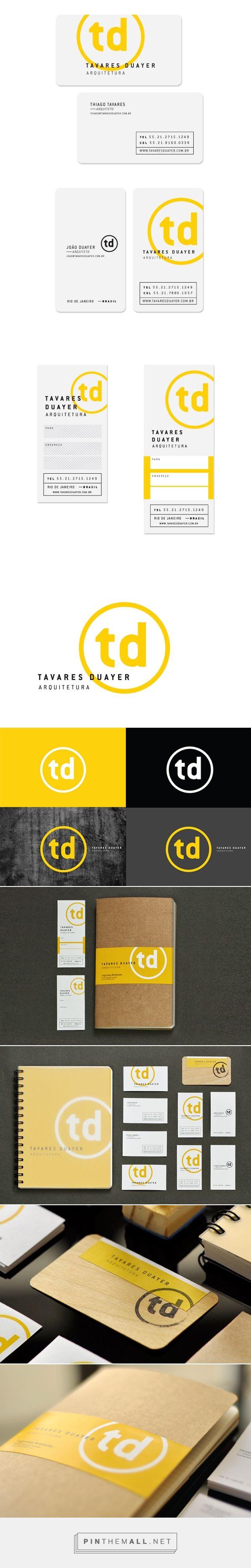 Tavares Duayer Arquitetura on Behance | Fivestar Branding – Design and Branding Agency & Inspiration Gallery