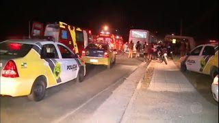 Galdinosaqua no Rio de Janeiro: Ônibus é alvo de arrastão e tiroteio no Paraná