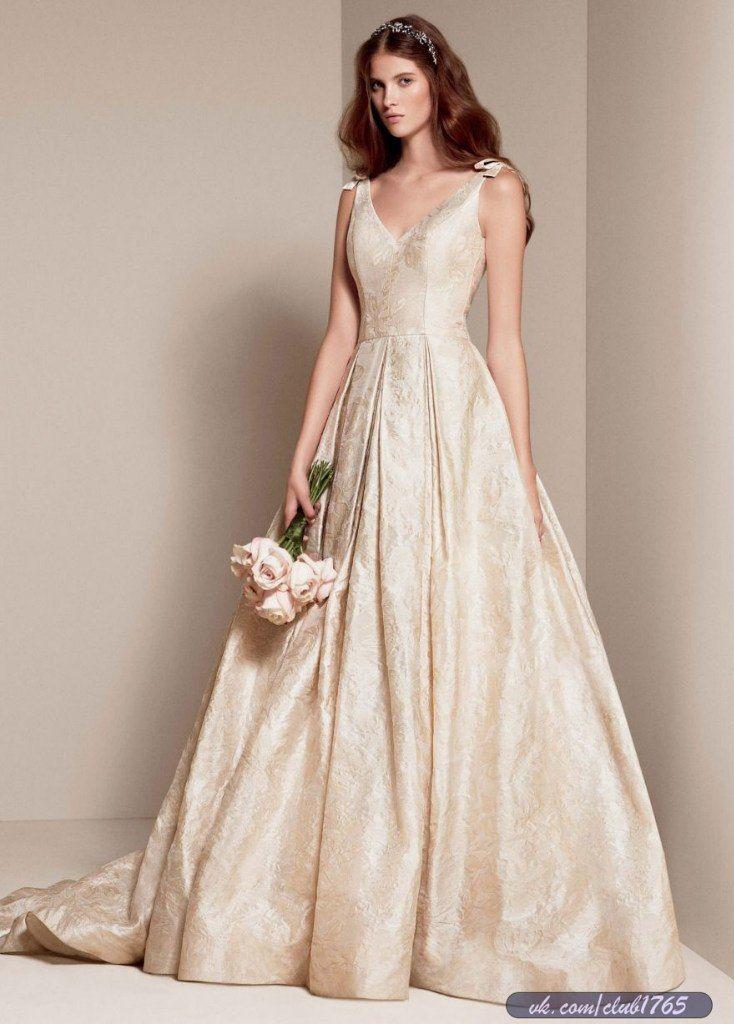 Свадебное платье White by Vera Wang Spring 2014