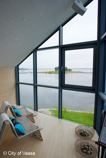 Home sweet home and a spectacular view @ Vaasa. www.visitvaasa.fi. Photo: Jaakko J Salo