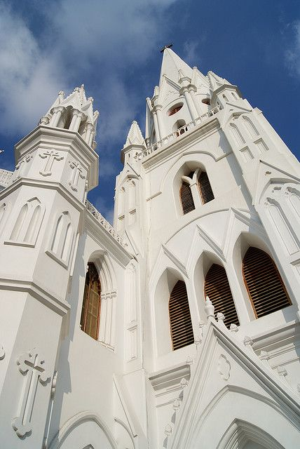 Chennai, India - I believe this is the Catholic Church where St. Thomas is said to be buried.