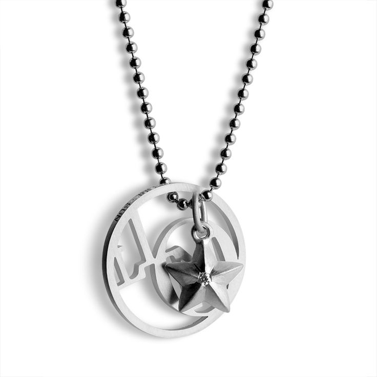 Two stars in one necklace >> http://www.janekoenig.com/pendants.html
