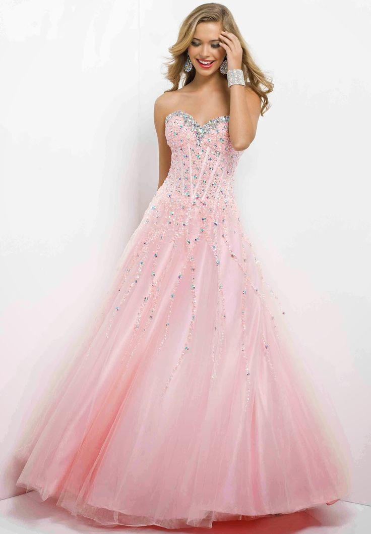 22 best Prom images on Pinterest | Blush prom dress, Formal dresses ...