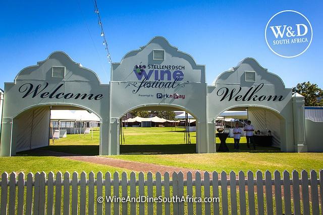 Welcome to Stellenbosch Wine Festival 2013, Die Braak, Stellenbosch #SouthAfrica