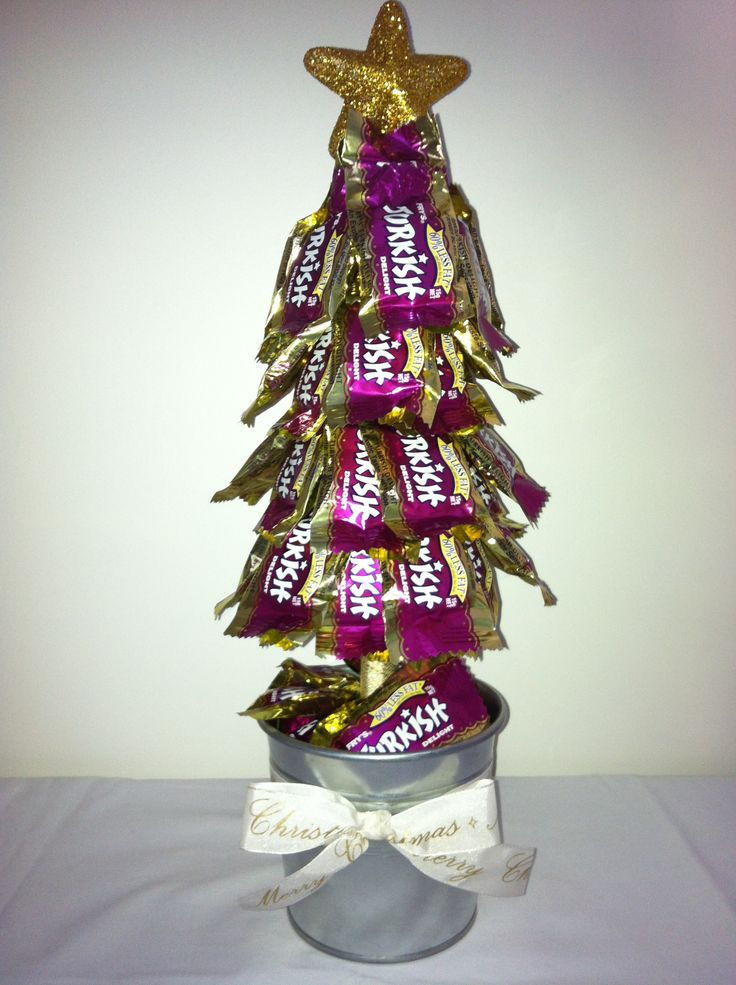 Turkish Delight Christmas Lolly Tree | crafts | Diy ...
