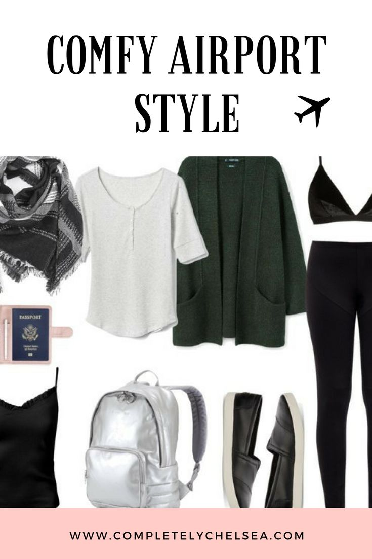 www.completelychelsea.com Blog post about Comfy airport style, keeping it simple and comfortable for a comfy travel outfit! #comfystyle #airportstyle #traveloutfit #travelstyle #travelingoutfit