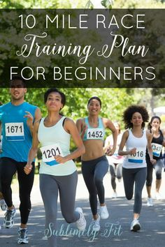 10 Miler Training Plan: An easy training plan perfect for beginners moving from the 5K up to a 10 mile race. Perfect for the Soldier Field 10 Miler or any other 10 mile race!
