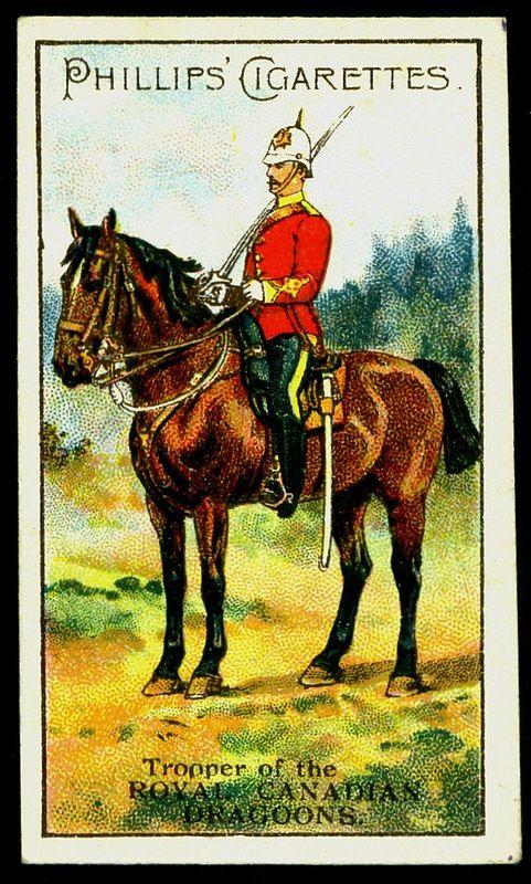 Cigarette Card - Royal Canadian Dragoons