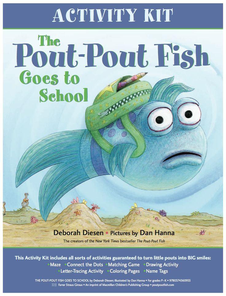 1000 ideas about pout pout fish on pinterest ocean unit for The pout pout fish book