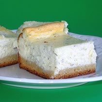 Hungarian Dilled Curd Cheesecake Recipe - Kapros Turos Lepeny