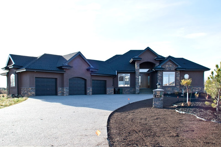 Once the landscaping is done this Sherwood Park home will be beautiful.
